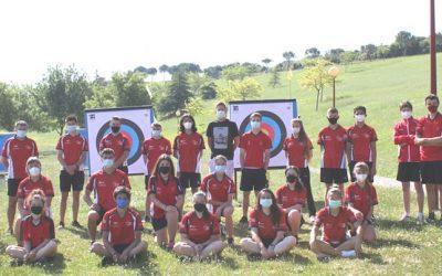 Última tecnificación de la selección de Tiro con Arco de menores, cadetes y juniors